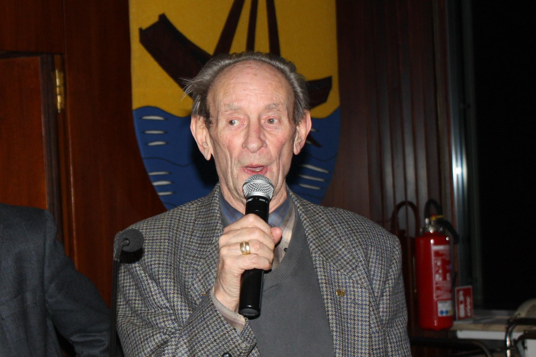 Ehrenvorsitzender Hans Lennarz